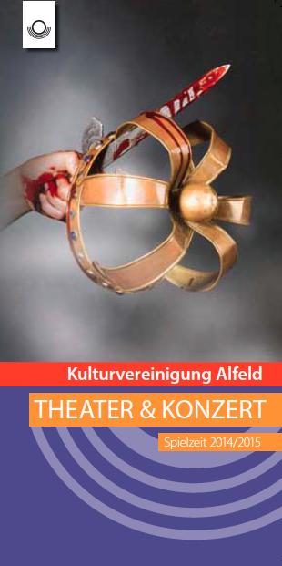 Programmheft Spielzeit 2014 / 2015